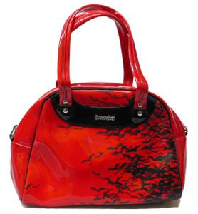 Red Bat Sky Handbag