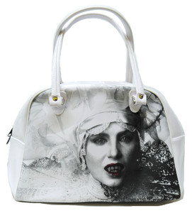 Lucy Westenra White Patent Leather Handbag