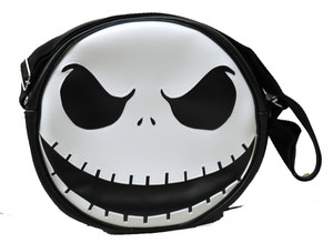 Jack Skellington Black Messenger Bag