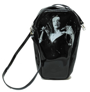 Black Vampira Coffin Bag
