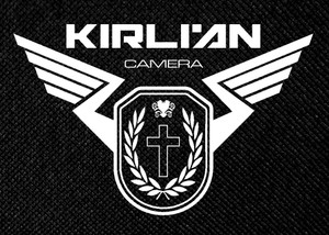 "Kirlian Camera 5.25x4.5"" Printed Patch"