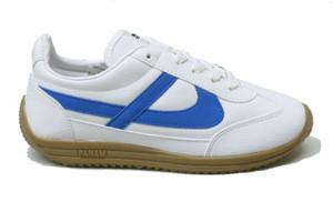 Panam - White, Blue Jogger Unisex Sneaker