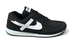 Panam -  Black, White Unisex Sneaker