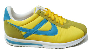 Panam - Yellow, Blue Jogger Unisex Sneaker