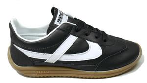 Panam - Black, White Jogger Unisex Sneaker