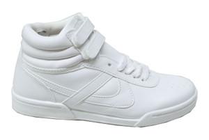 Panam -  White Unisex Hi-Top Sneaker