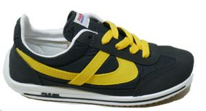 Panam - Black, Yellow Jogger Unisex Sneaker