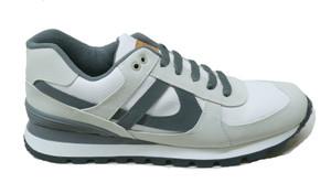 Panam - White, Grey Unisex Sneaker