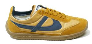 Panam - Ochre, Blue Jogger Unisex Sneaker