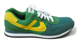 Panam -  Green, Yellow Unisex Sneaker