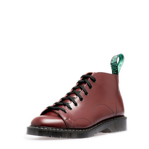 Solovair - 7 Eye Monkey Boot in Oxblood *Made in England*