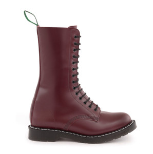 Solovair 14 Eye Derby Boot in Oxblood *Made in England*