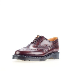 Solovair 5 Eye English Brogue in Burgundy *Made in England*