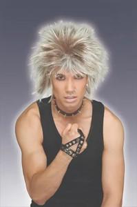 80's Style Rockstar Wig