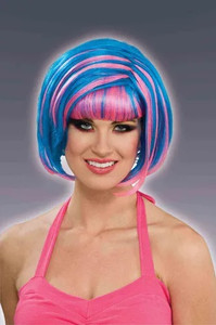 Women's Cotton Candy Bob Cut Wig