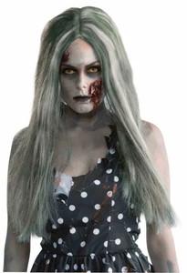 Women's Grey Zombie Wig