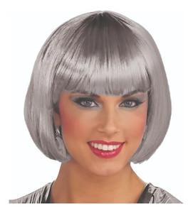 Grey Bob Cut Wig