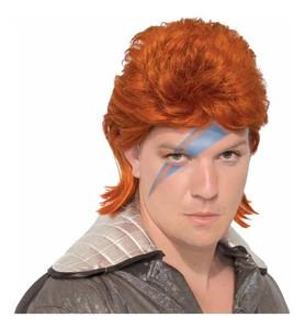 Orange Mullet Cut Wig