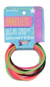80's Look Jelly Bracelets