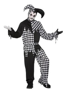 Men's Harlequin Costume