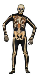Invisible Skeleton Man Costume