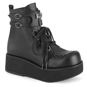 Platform Creepers Womens Boot by Demonia