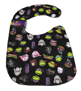 TMNT Collage Baby Bib