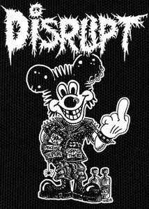 "Disrupt Mickey 12x15"" Backpatch"