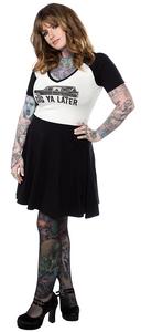 Dig Ya Later Raglan Skater Dress