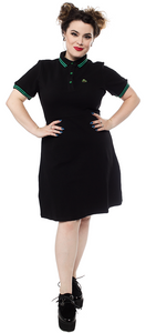 Black Creature Of the Lagoon Polo Dress