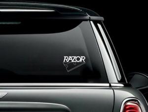 "Razor - Logo 5x3.5"" Vinyl Cut Sticker"