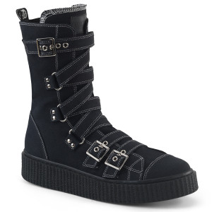 Platform Mid-Calf Creeper Sneaker Boot by Demonia