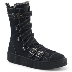 Platform Mid-Calf Creeper Sneaker Boot by Demonia