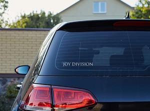 "Joy Division - Logo 7x2"" Vinyl Cut Sticker"