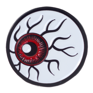 Sourpuss - Red Eyeball Metal Pin