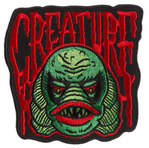 "Sourpuss - Creature from the Black Lagoon 3.5x 3.75"" Embroidered Patch"