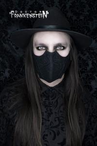 Brogue Black Bat Shaped Face Mask