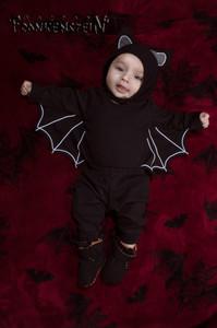 Baby Bat Three Piece Costume