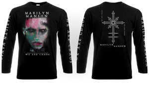 Marilyn Manson - We Are Chaos Long Sleeve T-shirt