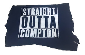 Straight Outta Compton - Logo Test Backpatch