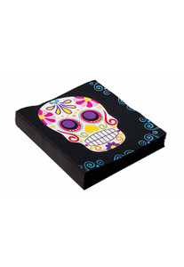 Day of the Dead Skull Party Napkins