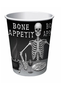 Bone Appetit Skull Party Cups