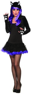 Black Cat One Piece Shrug