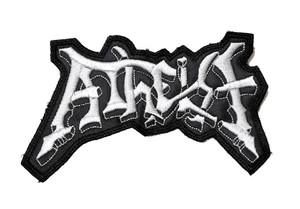 """Atheist Logo 4.5x3"""" Embroidered Patch"""