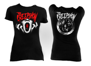 The Creepshow - Death at my Door Girls T-Shirt