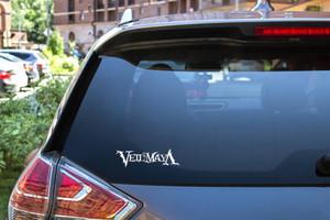 "Veil of Maya - Logo 6x1.5"" Vinyl Cut Sticker"