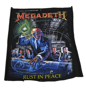 Megadeth - Rust In Peace Test Backpatch