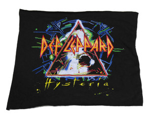 Def Leppard - Hysteria Black Test Backpatch