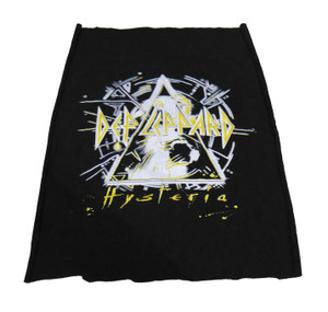 Def Leppard - Hysteria Yellow Test Backpatch