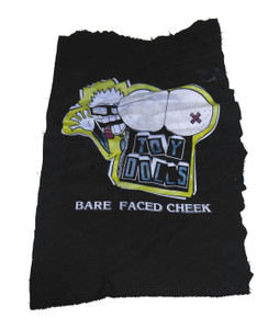 Toy Dolls Bare Faced Cheek Test Backpatch